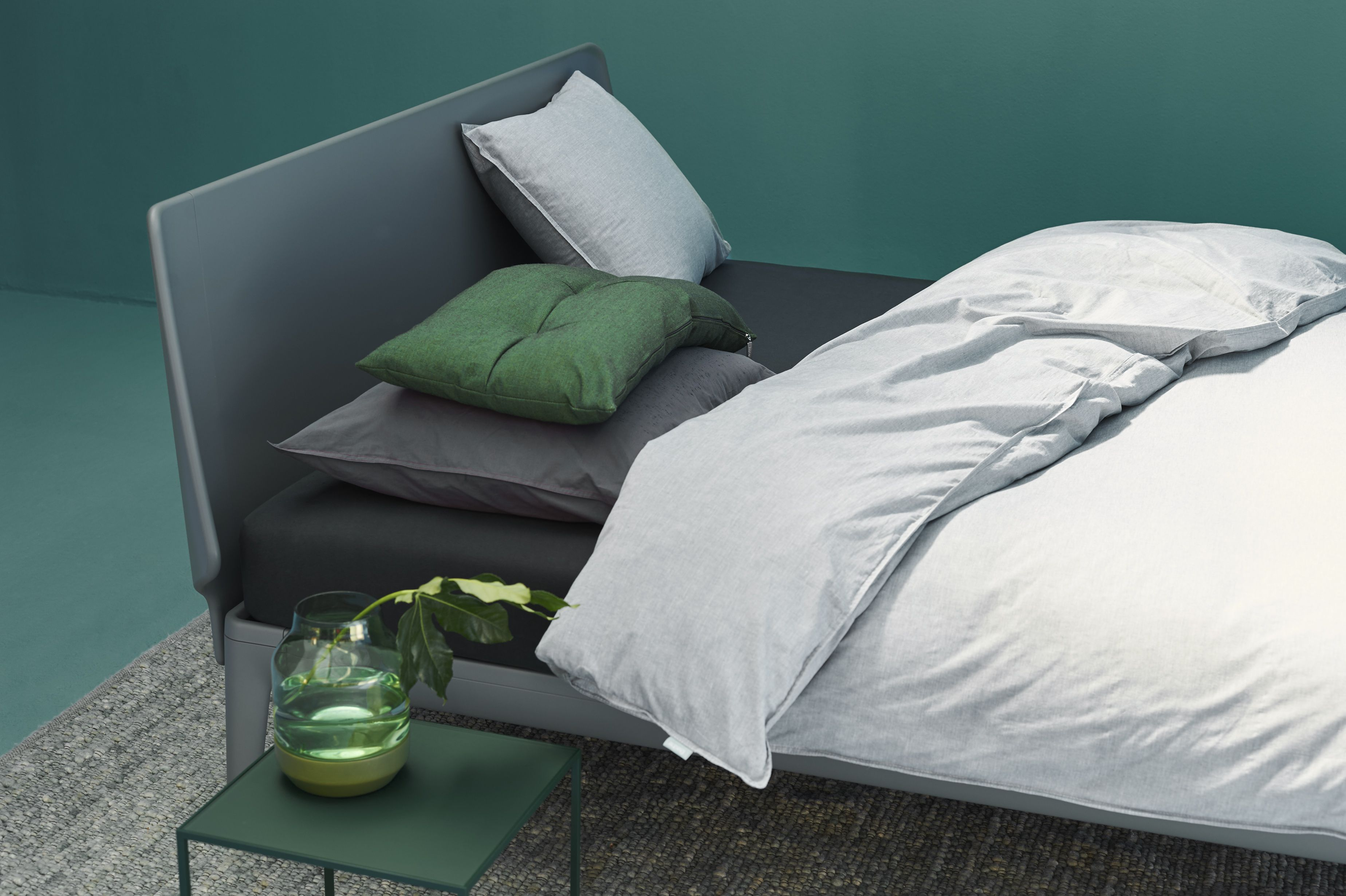 Auping Essential in Cool Grey. #bett #schlafzimmer #bedroom #bed ...