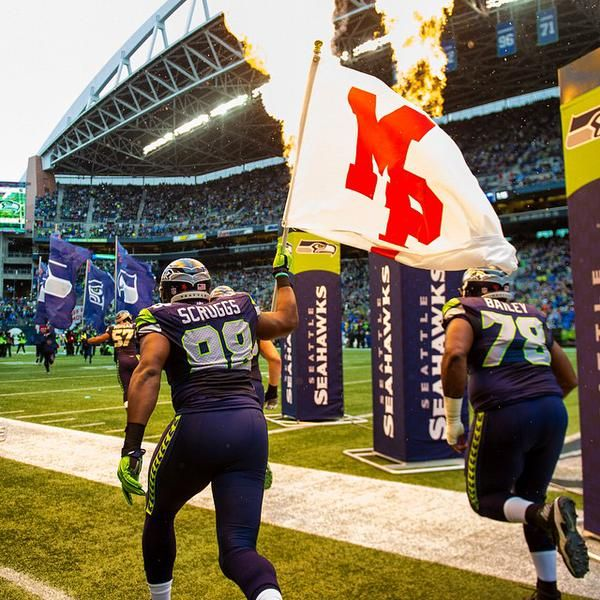 Thanks to the SeaHawks for an MP Day.  #MPStrong