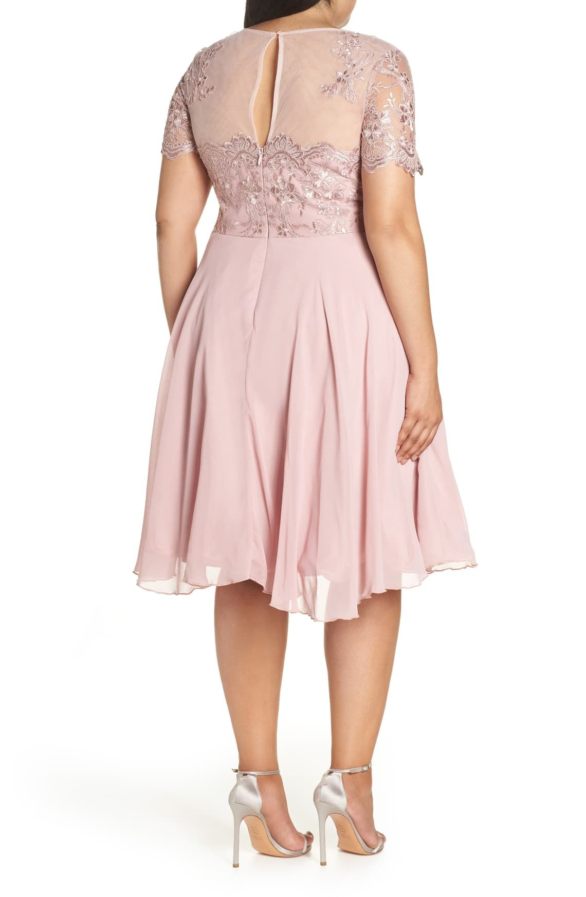Chi Chi London Embroidered Fit Flare Cocktail Dress Plus Size Nordstrom Plus Size Lace Dress Fit And Flare Cocktail Dress Dresses [ 1746 x 1140 Pixel ]