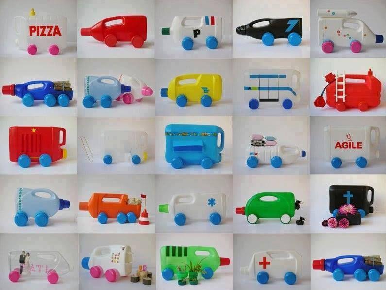 45 Ide Kreatif Dari Botol Plastik Bekas Kerajinan Plastik Botol