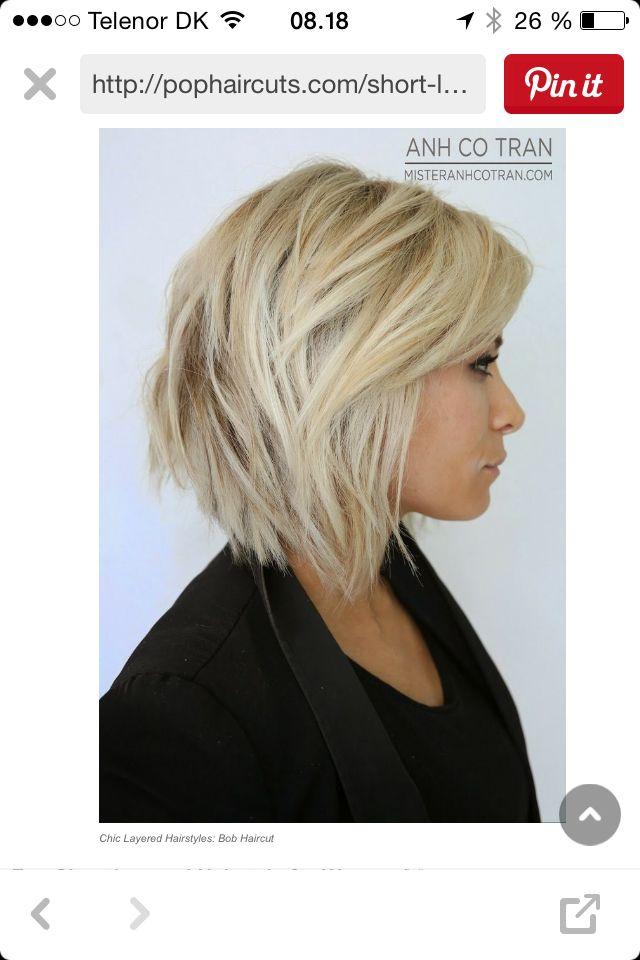 Lange etager i håret