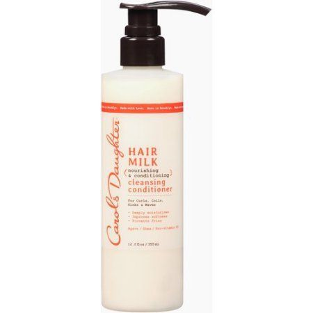 Carol's Daughter Hair Milk Cleansing Conditioner, 12 fl oz