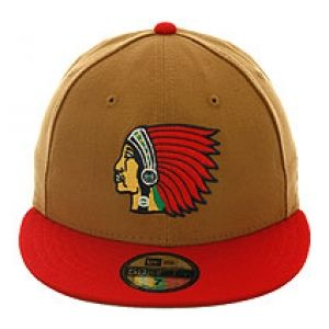 7-5 8 New Era 2Tone Boston Braves Fitted Hat - Khaki 590433e6705
