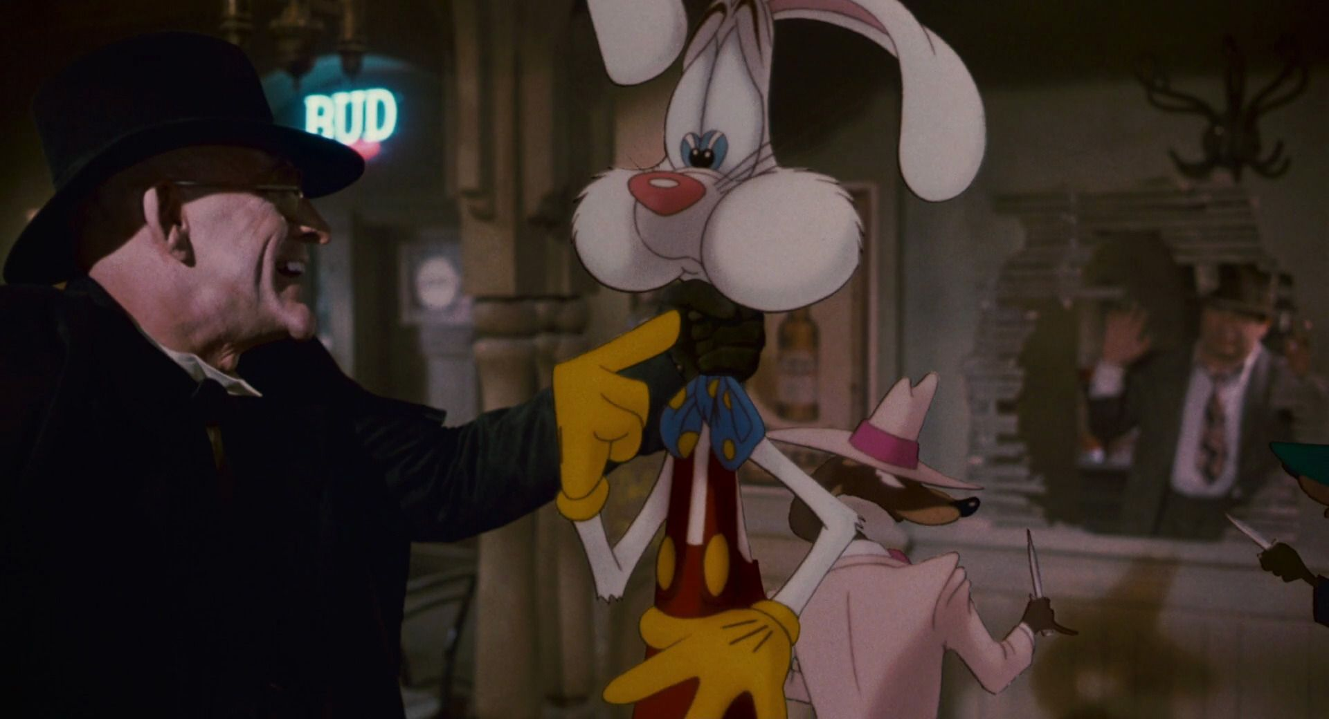 eddie valient bob hoskins roger rabbit who framed roger rabbit