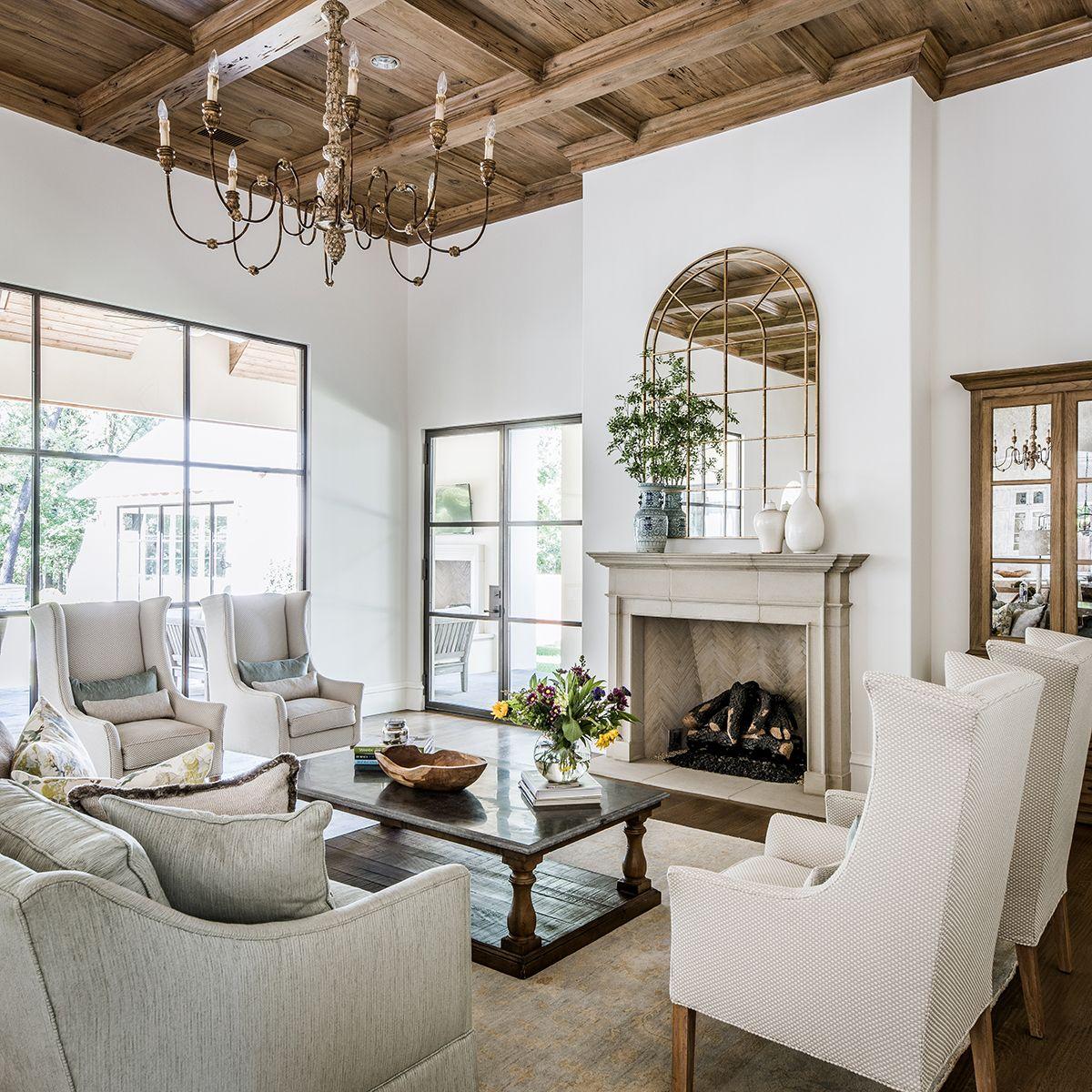 Portfolio – Erin Sander Design  Transitional style living room