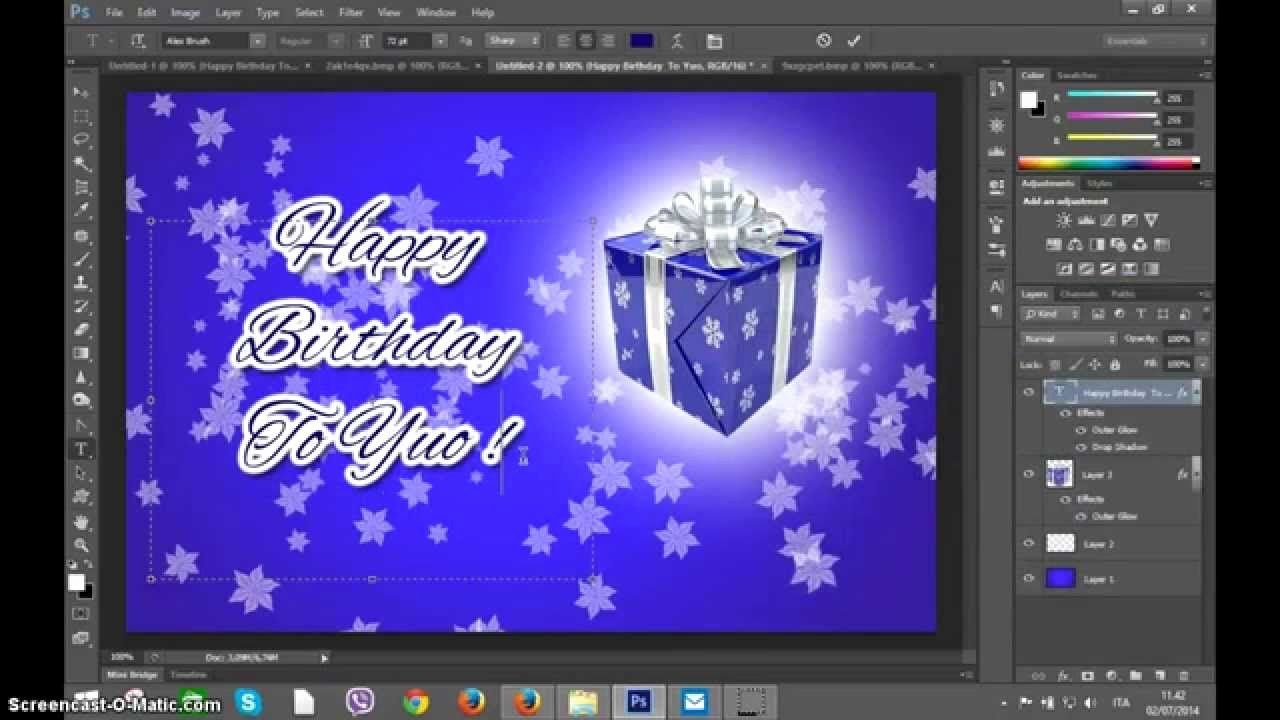 Photoshop Greeting Card Template Fresh Shop Create Happy Birthday Greetings Card Happy Birthday Greeting Card Birthday Card Template Birthday Greeting Cards