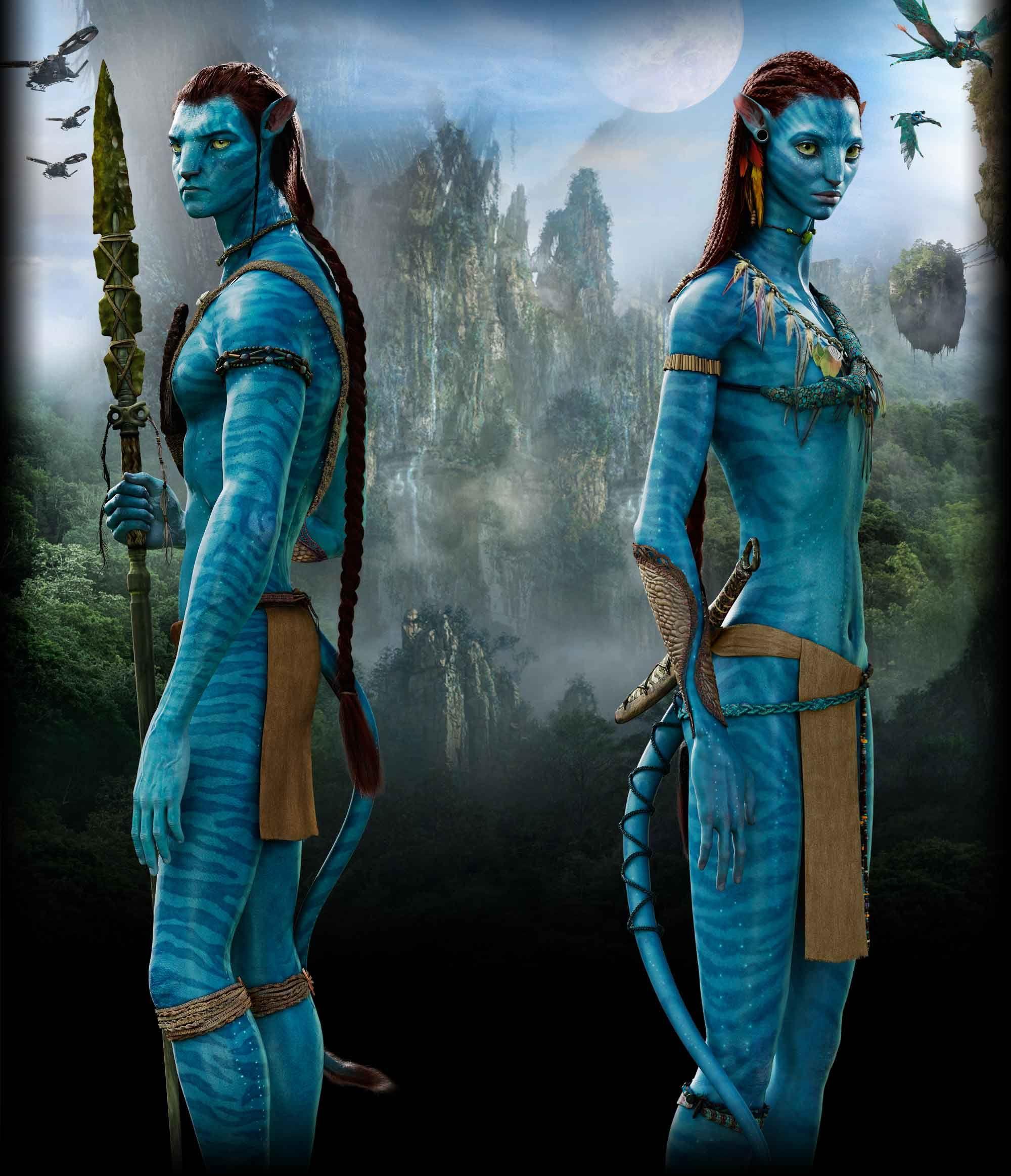 Avatar Art: Neytiri Avatar Full Body