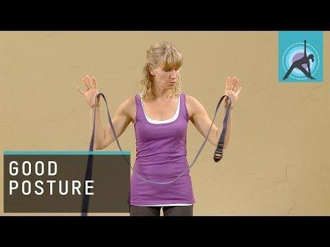 make your own posture brace at home  yoga strap iyengar