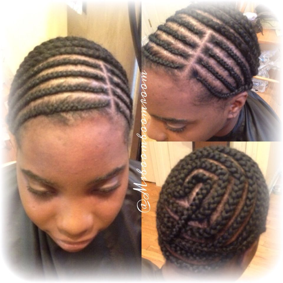 Braid Pattern For Full Sew In And Lace Silk Closure Install Sew In Braids Sew In Braid Pattern Hair Braid Patterns