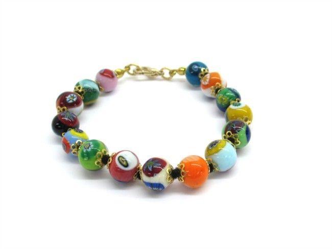 $29 Italian Murano Glass Bracelet, info@bijuterie-online.ro