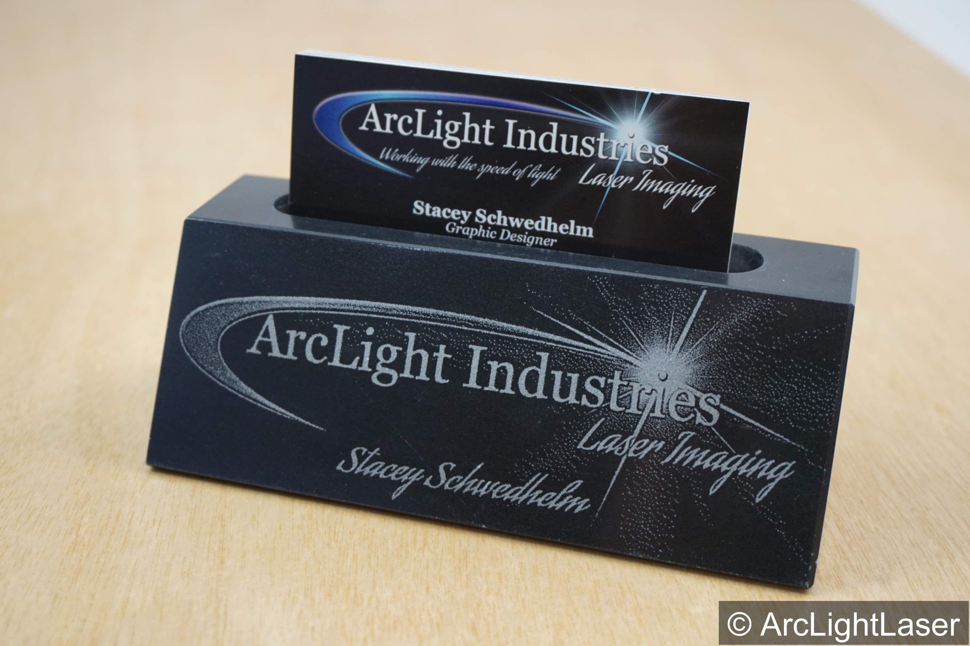 black marble bar business card holder create your own style for