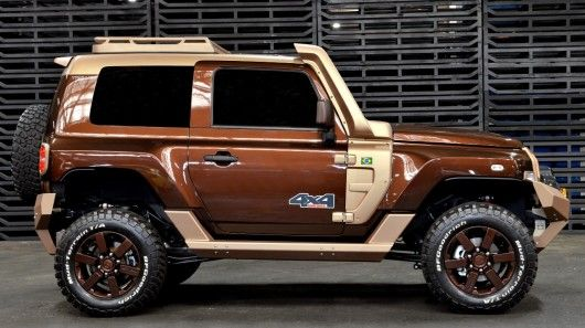 Ford Ruggedizes Its Troller 4x4 For The Sao Paulo Motor Show 4x4