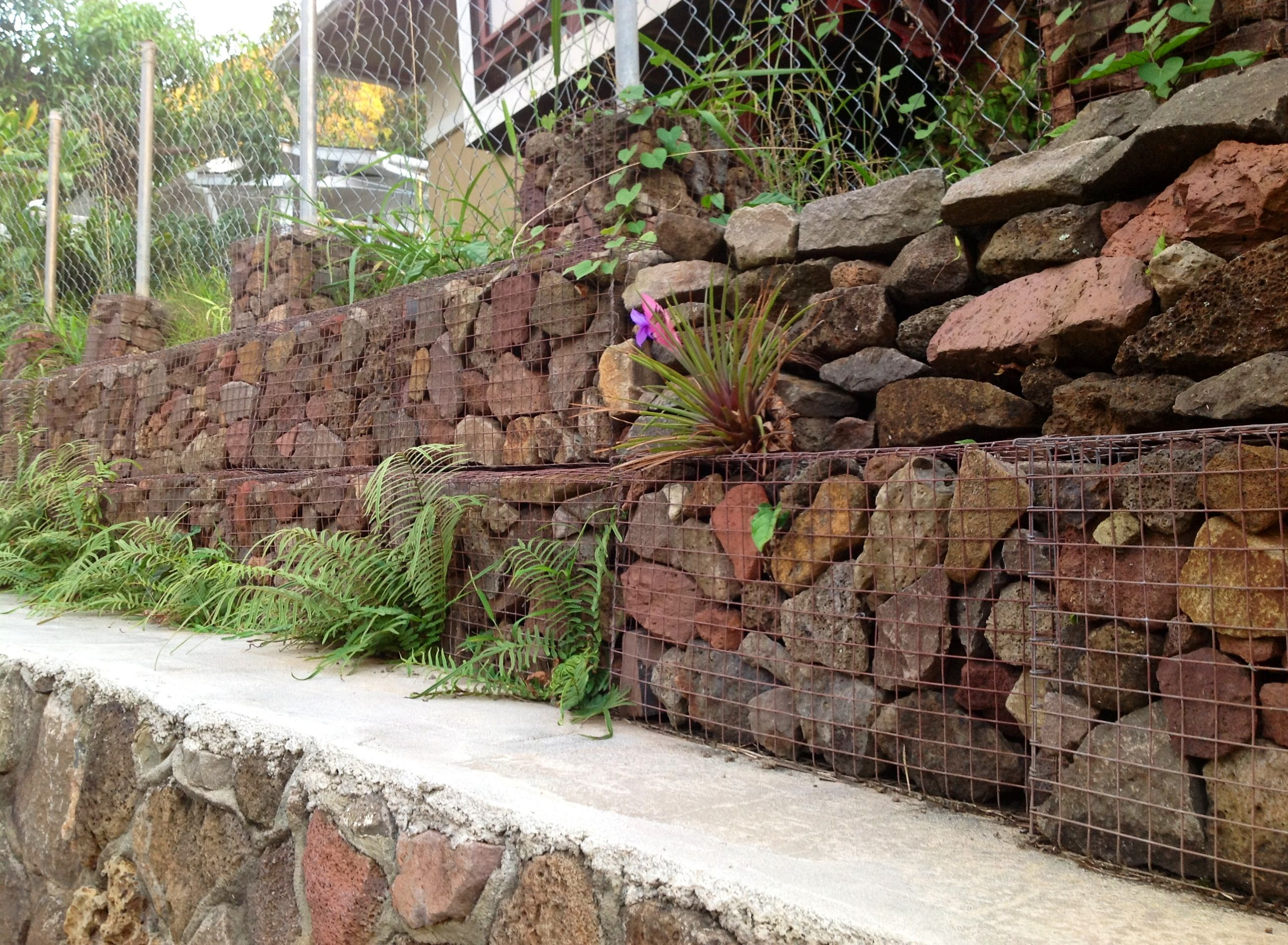find this pin and more on gabion design gabion retaining wall - Gabion Retaining Wall Design