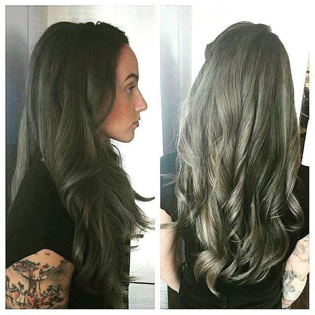 Not Your Grandma S Gray Mindi S Guest Wanted Hair Color With A Little Bit Of An Edge Grayhair Silver Hair Haircut Hairstyle Hair Styles Hair Salon Hair