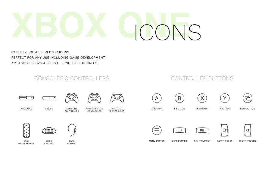 Xbox Icon Set Icon Set Icon Xbox
