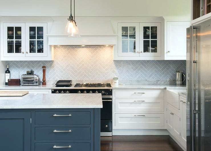 Best Herringbone Tile Backsplash Kitchen Gray Herringbone 400 x 300