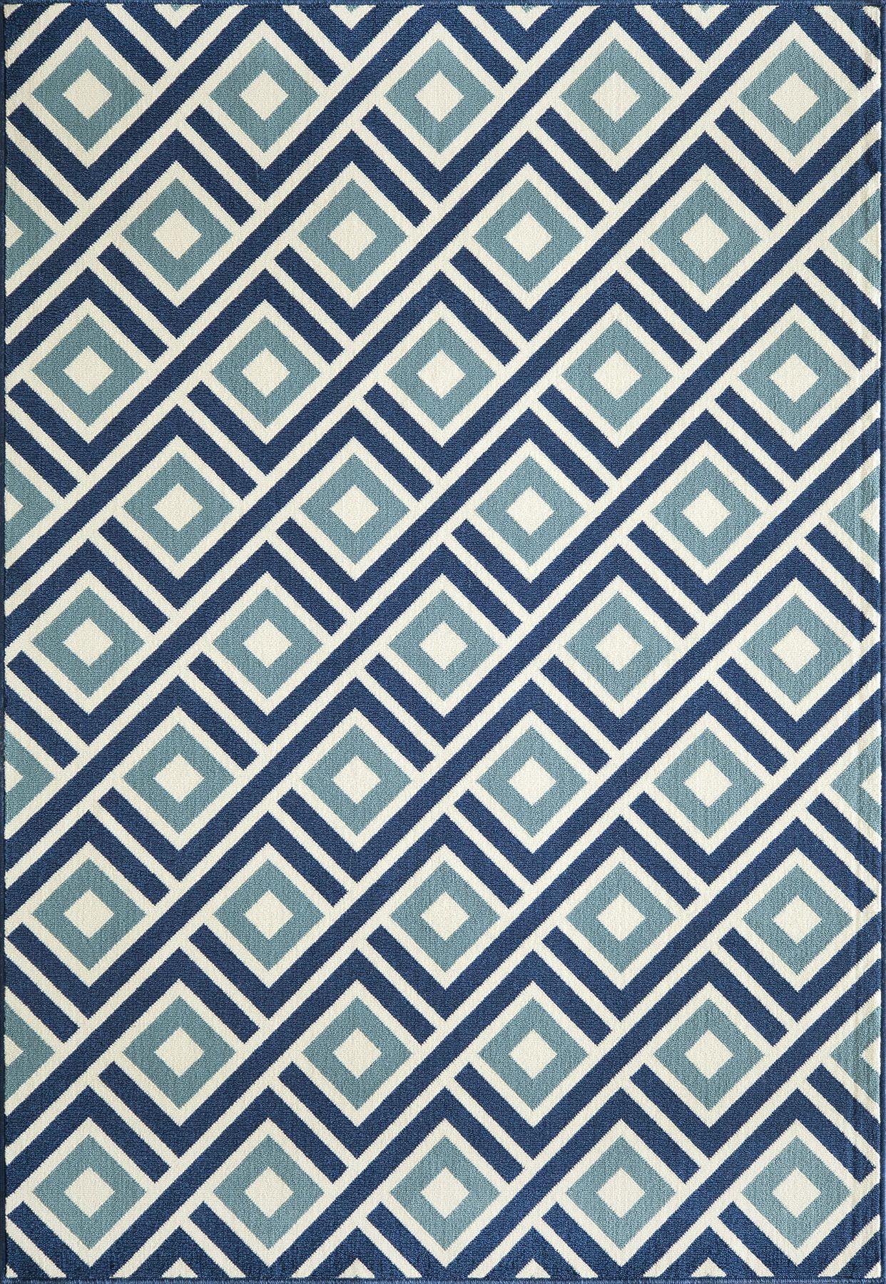 Cadiz blue indooroutdoor area rug blue rugs and area rugs cadiz blue indooroutdoor area rug baanklon Gallery