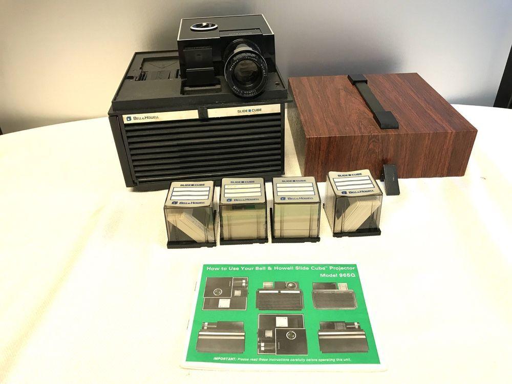 bell and howell slide cube 965q slide projector manual 4 slide cubes with slides bellandhowell