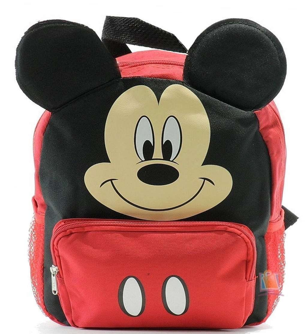 12 Inch Toddler Mickey Mouse Backpack Backs