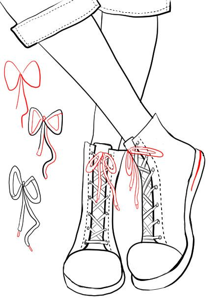 How To Draw Sneakers Fashion Drawing Tutorial Sneakers Drawing Drawings