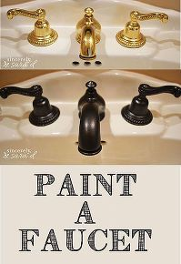 Photo of How to makeover your faucet with paint