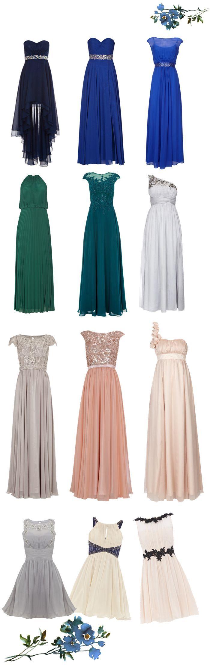 Kleider für Hochzeitsgäste - Frauen Mode | Kleider für ...
