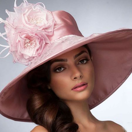 Leticia Derby Hat available at  VillageHatShop  f82cac1e3cd