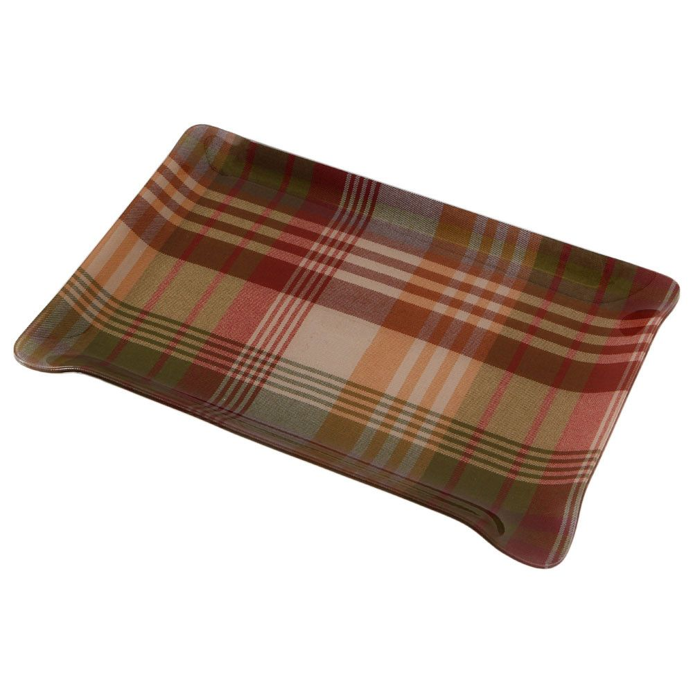 016943dee38 Discover the Mulberry Home Ancient Tartan Tray - Small at Amara ...