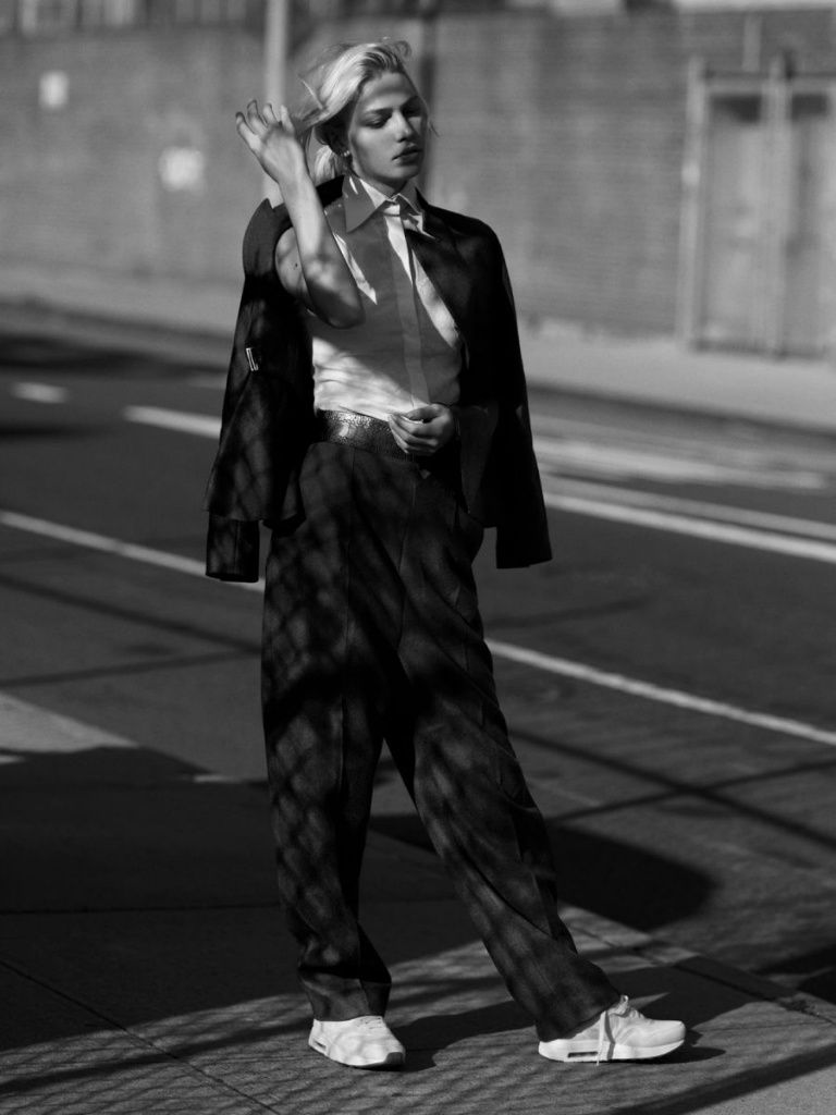 #AlineWeber #fashion #editorial by #AnnemariekeVanDrimmelen for #RikaMagazine #9 November 2013 #photography #fotografia #moda