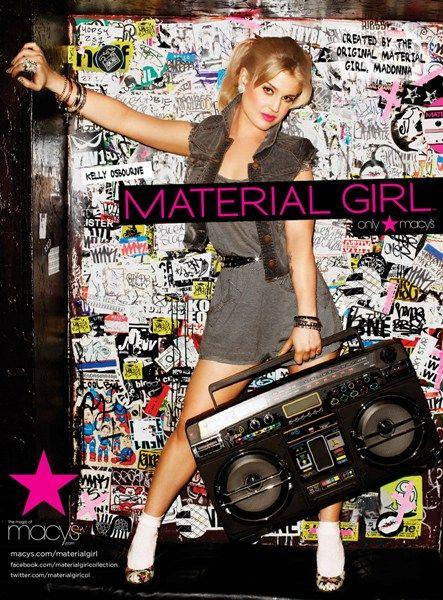 Kelly Osbourne Models For Material Girl Material Girls