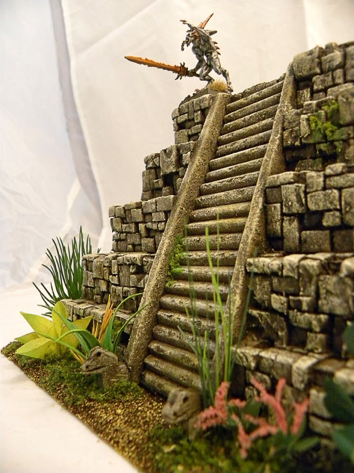 Terrain Wench Productions: Lizardmen Temple & Spawning Pool