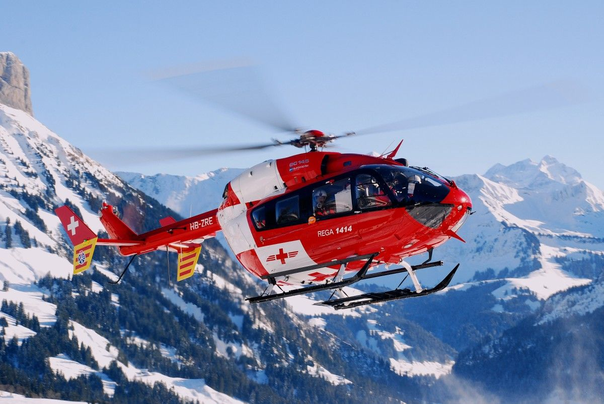 Lost in the Wild Helicopter, Airbus helicopters, Medical