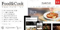 Theme Description:Food & Cook Pre Theme  Our Review: Food & Cook is a 100% responsive design Multipurpose Food Recipe WordPress Theme. The Food & Cook generated by Dahz. He created 09 June 2013 and updated 09 June 2013. This theme comes with beautiful and clean design it's a perfect display for your food cataloger. Specially this theme made for 6 home layouts and 3 recipe layouts complete food and recipe..