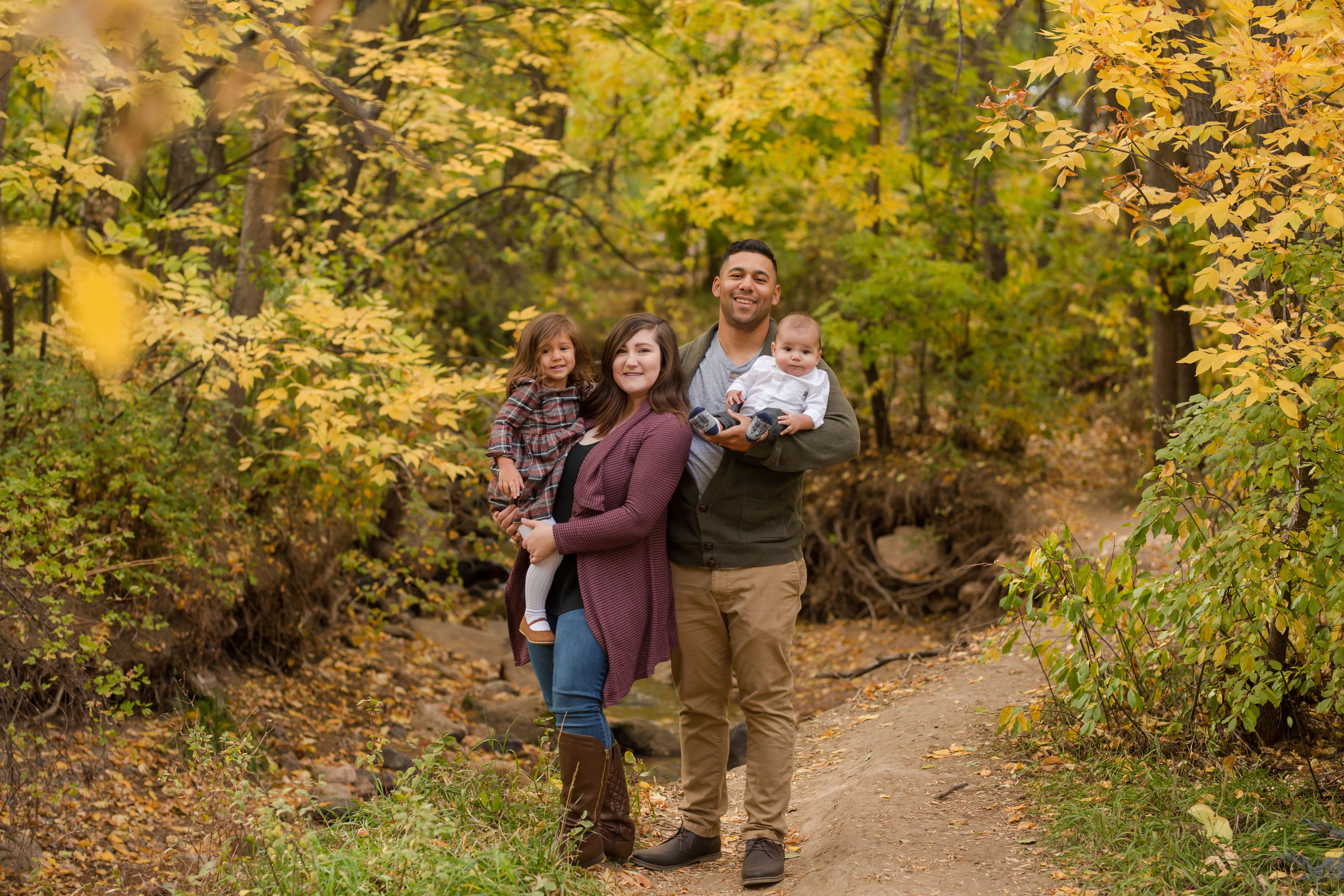Family Pictures In Colorado Springs