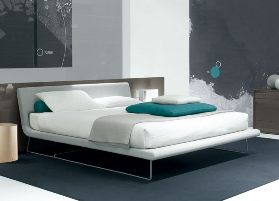 Go Modern Furniture Jesse Tully Bed With Sled Base