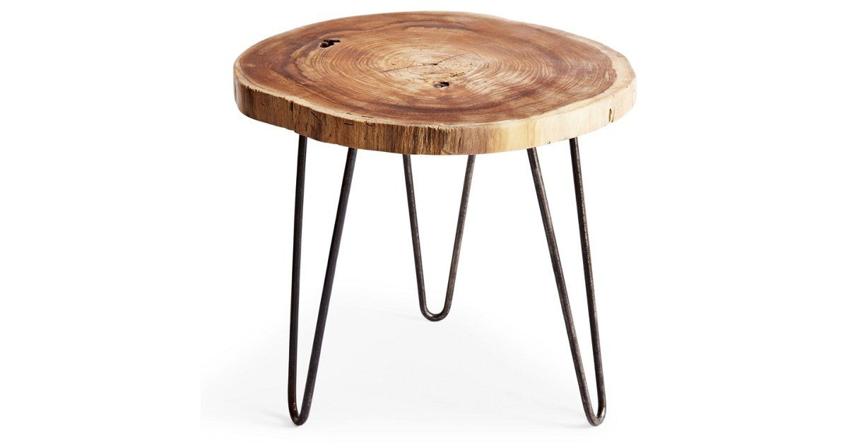 As eye-catching as it is durable, this side table offers an elegant display of masterful craftsmanship. Handmade by artisans in Indonesia, this table features a uniquely constructed teak wood...