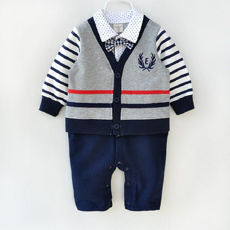 Newborn Baby Clothes Fashion 100 Cotton High Quality Infant Formal