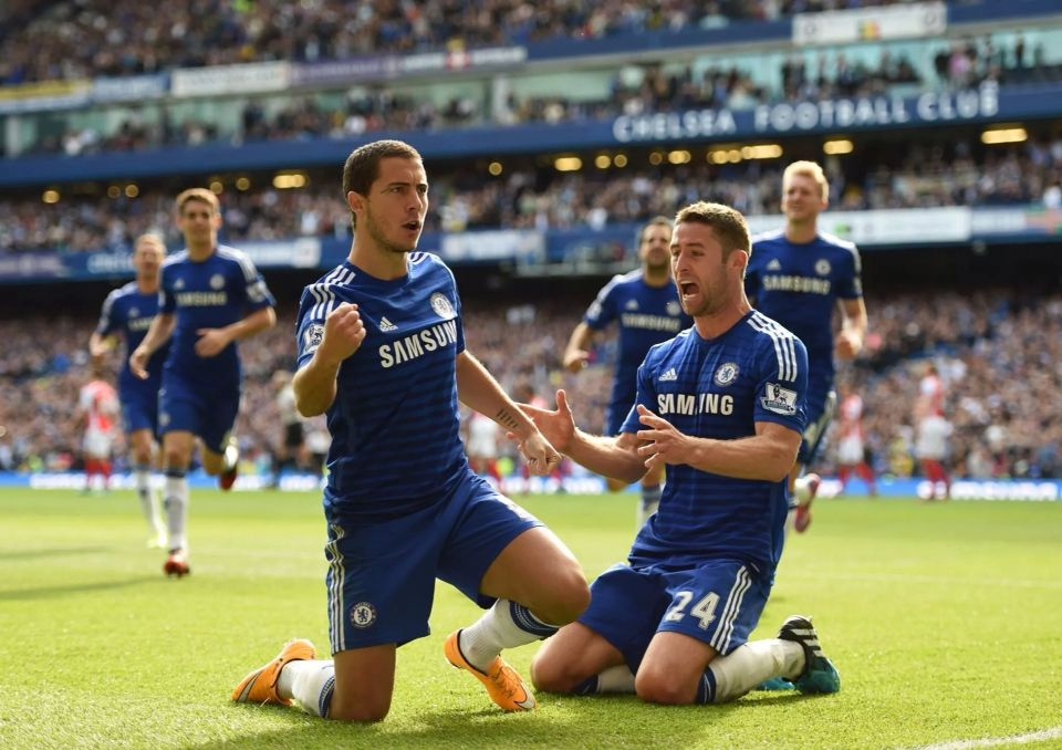 Hazard & Cahill...legends!