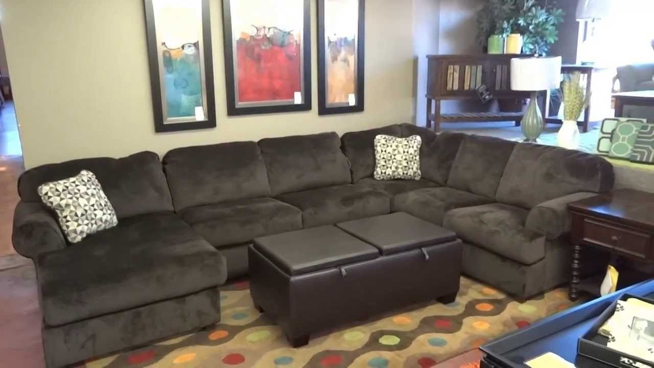 Ashley Furniture Jessa Place Sectional 398 Review Youtube Intended For Ashley Furniture Sectional Reviews 31944