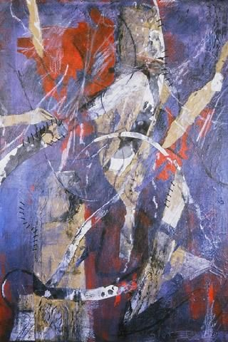 Eileen Downes The Collage Artist Who Paints With Bits Of Torn Paper For A Palette Painting Collage Artists Art