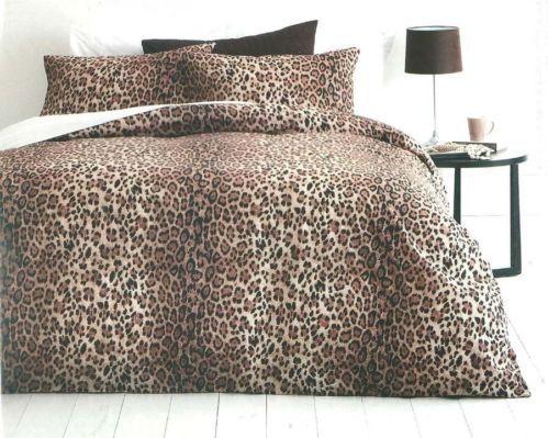 Kmart Leopard Print Quilt Cover Set With Images Quilt Cover