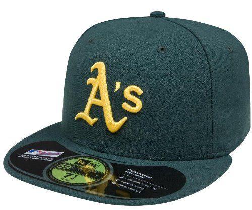 MLB Oakland Athletics autentica de campo 59FIFTY gorra 3f45c793fb3