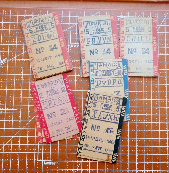 heb store horse betting tickets 80s