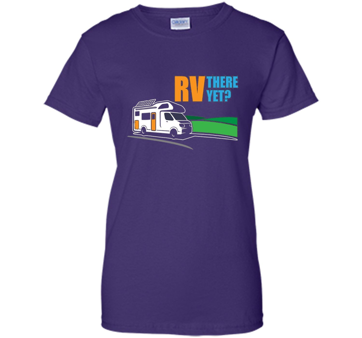 RV Are We There Yet Funny Cute Road Trip Lover Pun T-Shirt