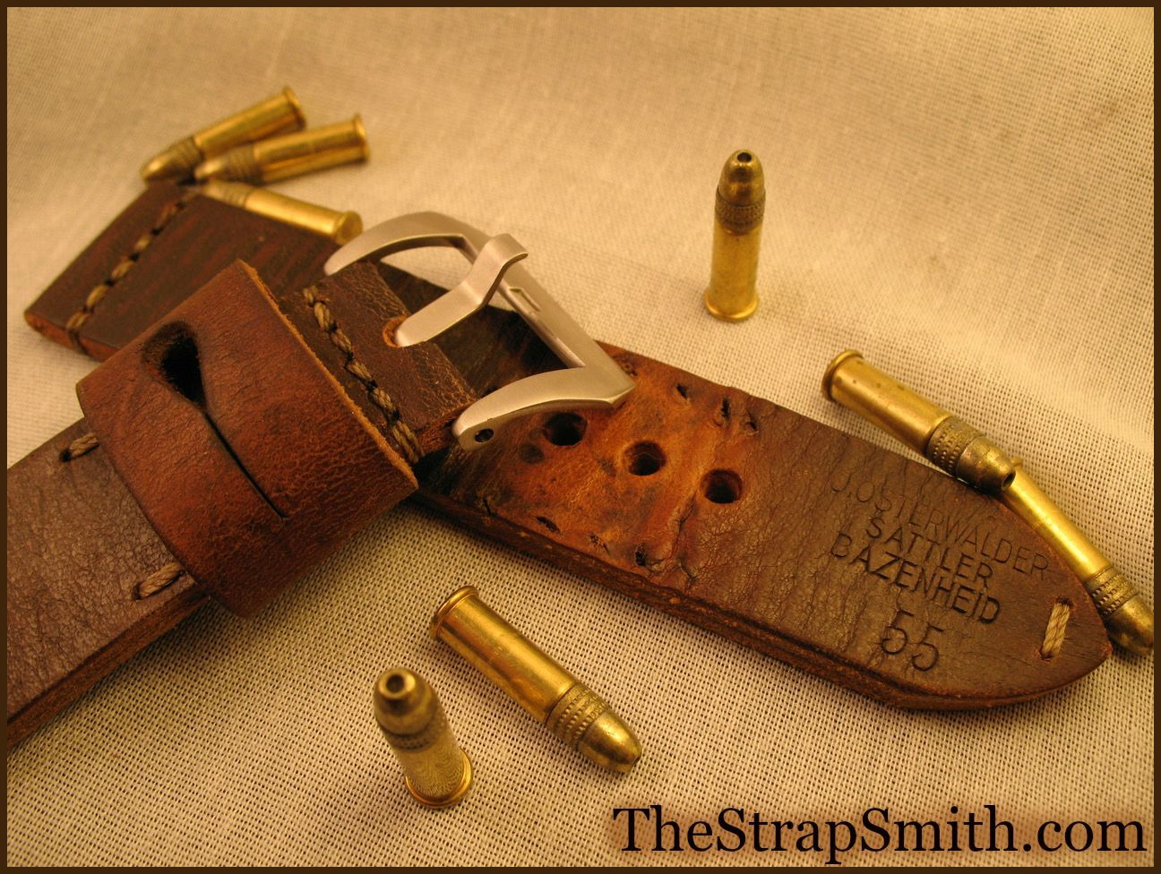 These have been through the trenches and back!  #vintage #military #character #heritage #thestrapsmith #handbuilt