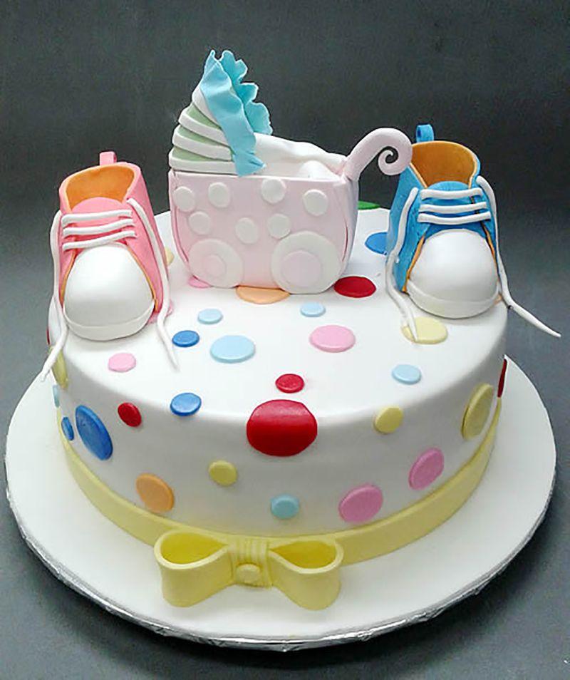 Boy Baby Shower Cake By Davidandkate95, Via Flickr | Baby Boy Shower Cakes  | Pinterest