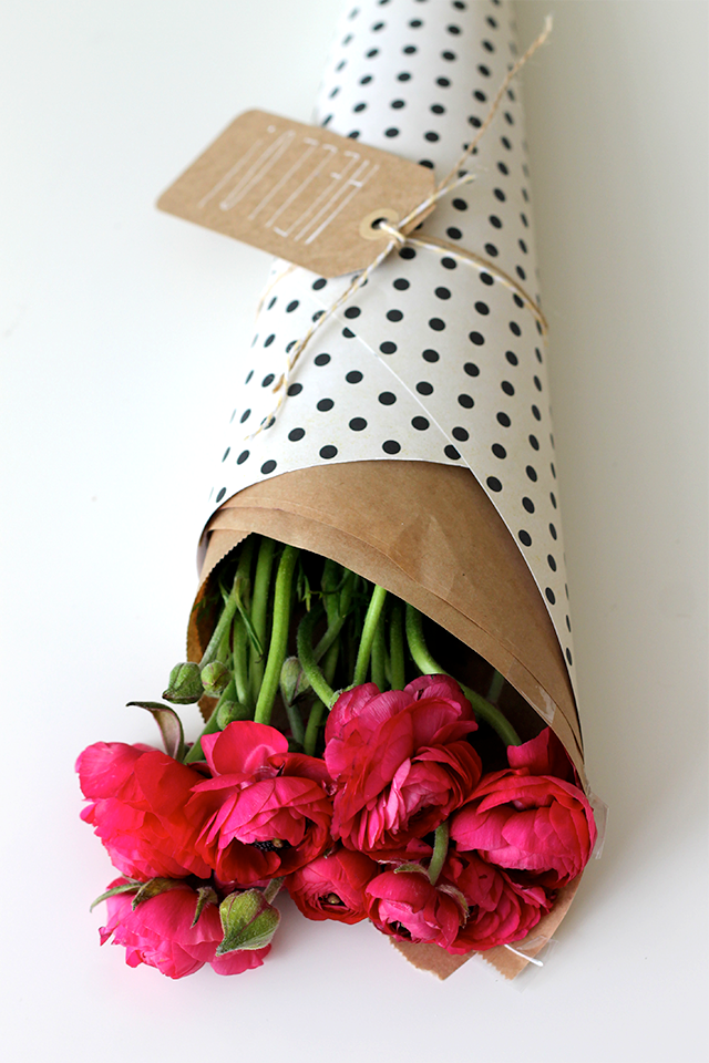 DIY idea: Floral gift presentation | piece of cake/peace of mind ...
