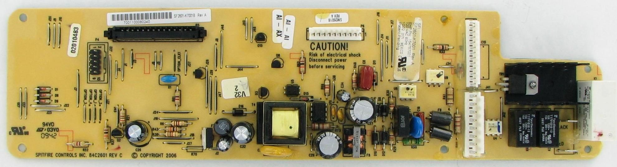 Frigidaire 154757001 Dishwasher Electronic Control Board Frigidaire Dishwasher Diswasher Frigidaire