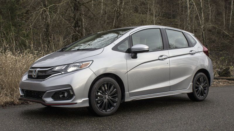 2018 Honda Fit Sport Review And Driving Impressions Honda Fit