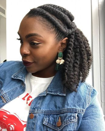 Kinky Curly Clip-ins for Protective Styling #protectivestyles